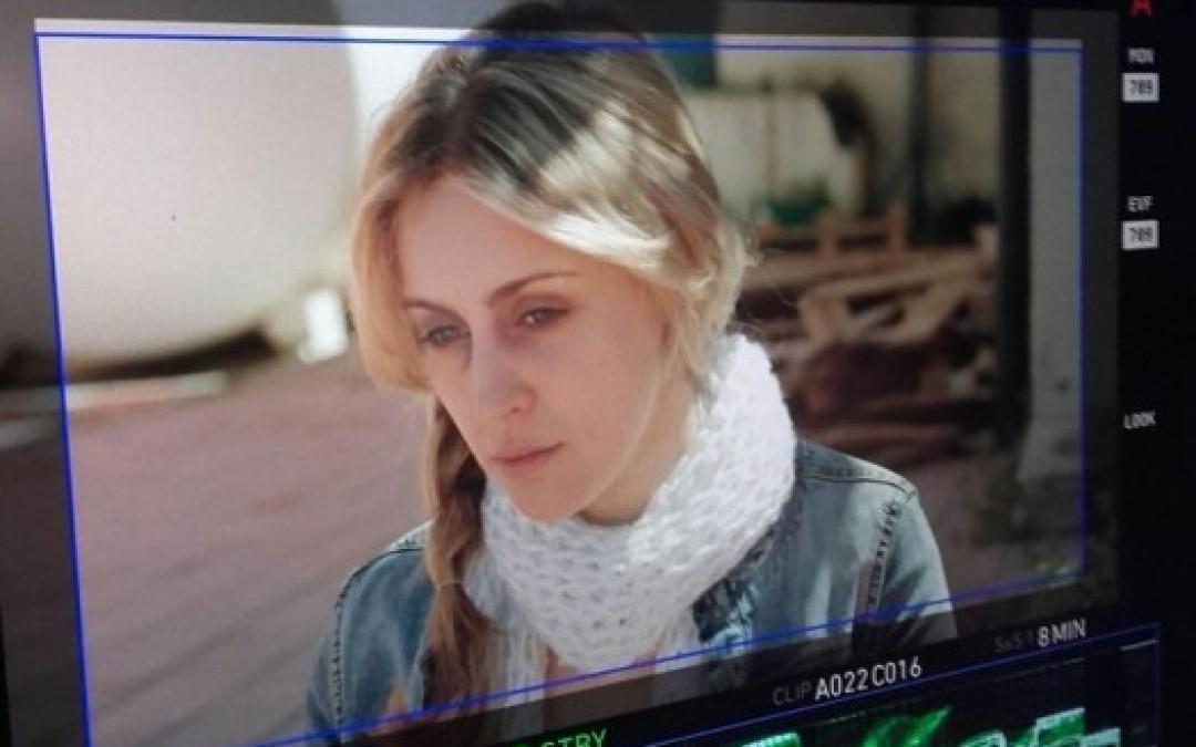 Nerea Lovecchio guionista y protagonista de 'Moira'